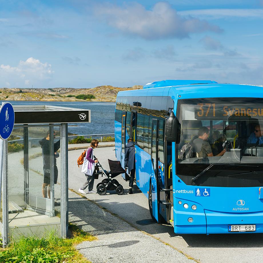 Sommarresa med buss